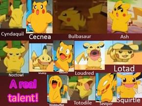 Pikachu's Talent