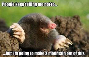 One Mole's Dream