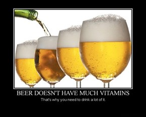 Get Healthy, Drink Beer