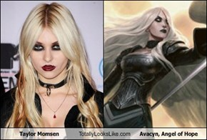 Taylor Momsen Totally Looks Like Avacyn, Angel of Hope
