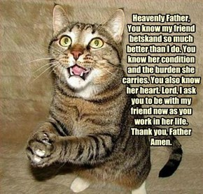 A Prayer For Betsy.