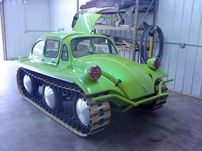 All-terrain Volkswagen