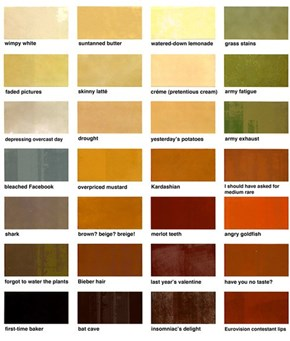 Crayola Cutting Floor Color Names