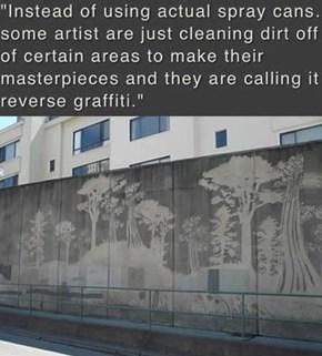 Reverse Street Art