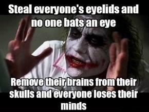 The Joker Gets a Bit Too Literal