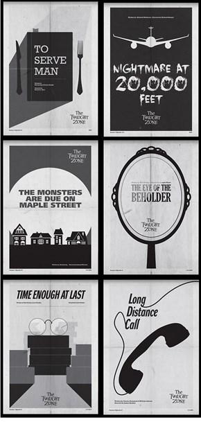 Classic Twilight Zone Posters