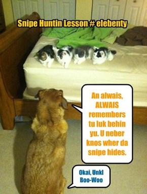 Snipe Huntin Lesson # elebenty
