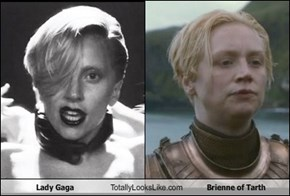 Lady Gaga Totally Looks Like Brienne of Tarth