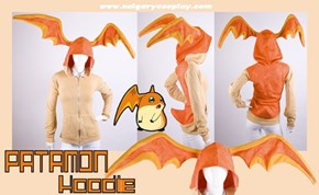 Digivolve With This Adorable Patamon Hoodie