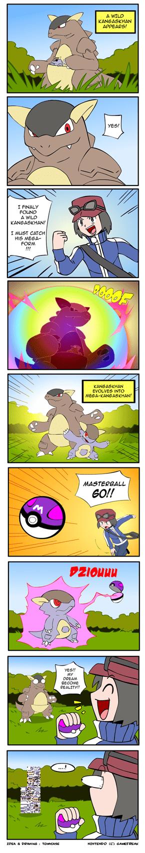 Mega Kangaskhan Error