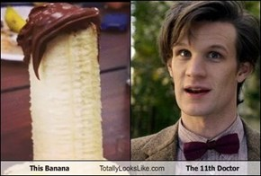 This Banana Totally Looks Like The 11th Doctor