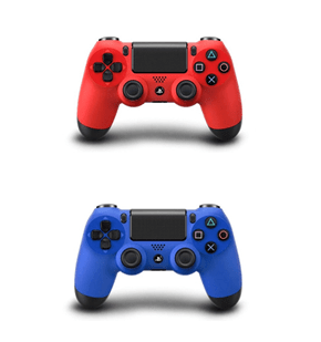 Playstation 4 Controllers Will Also Come in Red and Blue
