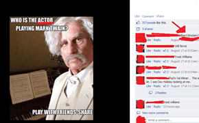 because Einstein was an actor.