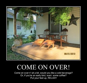 COME ON OVER!