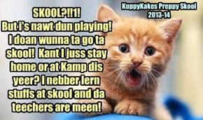 KuppyKakes Preppy Skool 2013-14