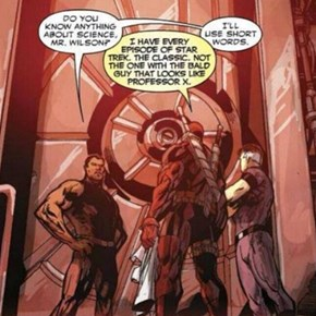 Deadpool Knows His Science