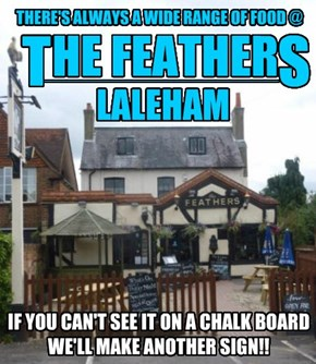 Laleham, A sign of the tymes