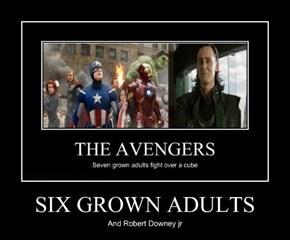SIX GROWN ADULTS