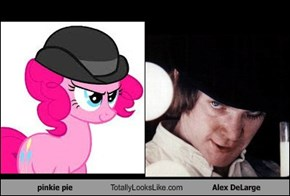 pinkie pie Totally Looks Like Alex DeLarge
