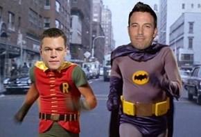 Please Let Matt Damon be Robin