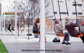 CLASSIC: Waiting for a Bus to Swing By