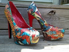 Kick Some Bad-Guy Butt in These Amazing Superhero Shoes