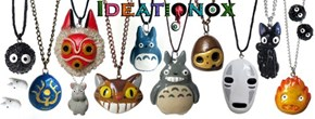 Show Off Your Ghibli Side With These Adorable Necklaces