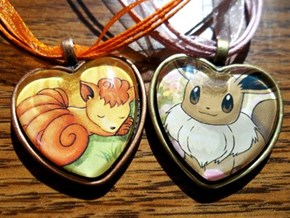 Get Ready for X&Y With Pokemon Card Pendants