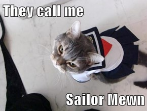 They call me  Sailor Mewn