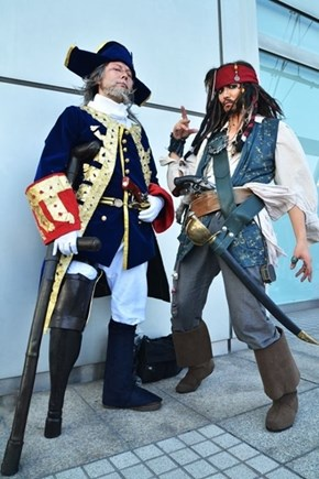 Pirates of the Convention Center