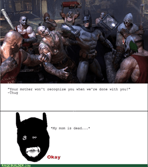 Arkham City Sadness