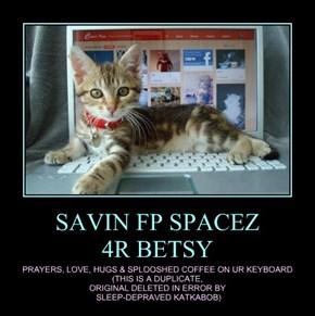 SAVIN FP SPACEZ  4R BETSY