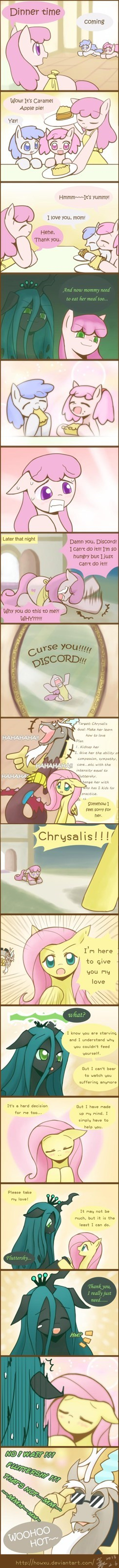 Even Chrysalis Needs Love