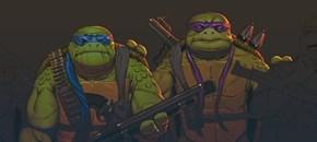 Aging Mutant Ninja Turtles