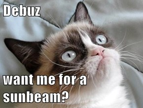 Debuz  want me for a sunbeam?