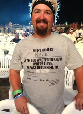 A Truely Helpful T-Shirt