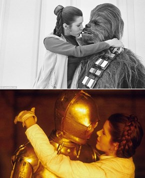 Leia Really Got Around
