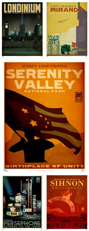 Firefly Travel Posters