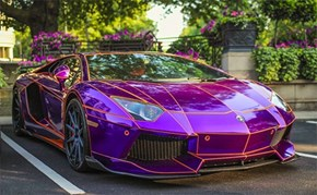 This Sweet Lamborghini is Straight Out of the Grid