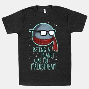 Hipster Pluto