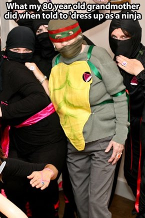 Granda Won Halloween That Year