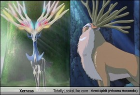 Xerneas Totally Looks Like Forest Spirit