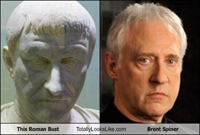 This Roman Bust Totally Looks Like Brent Spiner