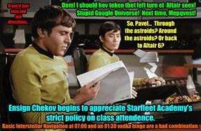 Chekov the Navigator