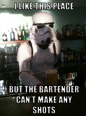 This Isn't the Bar You're Looking For