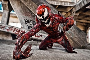 The Creepiest Carnage Cosplay You'll Ever See