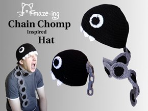 Chomp Down on This Super Cozy Hat
