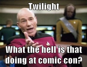 Twilight   What the hell is that doing at comic con?