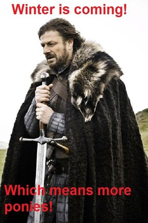 Brace yourself!