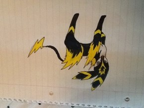 EPIC MEGA UMBREON DESIGN!!!